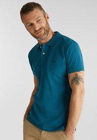 Esprit - OCS  - Polo shirt - petrol blue - 3