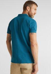 Esprit - OCS  - Polo shirt - petrol blue - 2