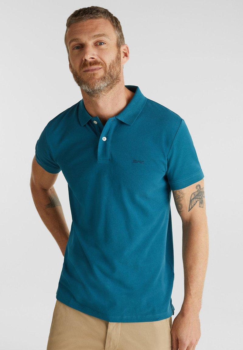 Esprit - OCS  - Polo shirt - petrol blue