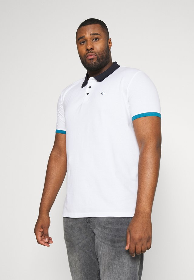 BLOCK POL - Polo - white