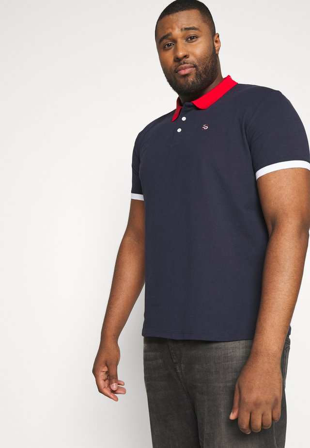 BLOCK POL - Polo - navy