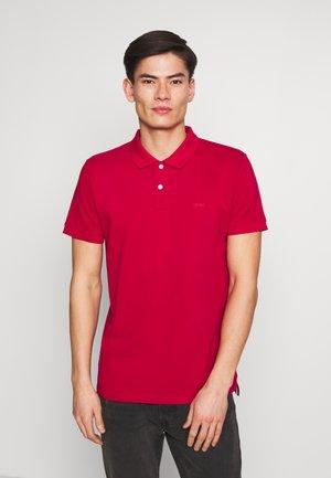 Poloshirt - garnet red
