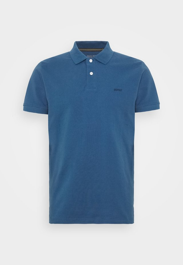 Polo - grey blue