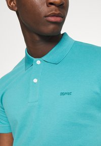 Esprit - Koszulka polo - teal blue - 5