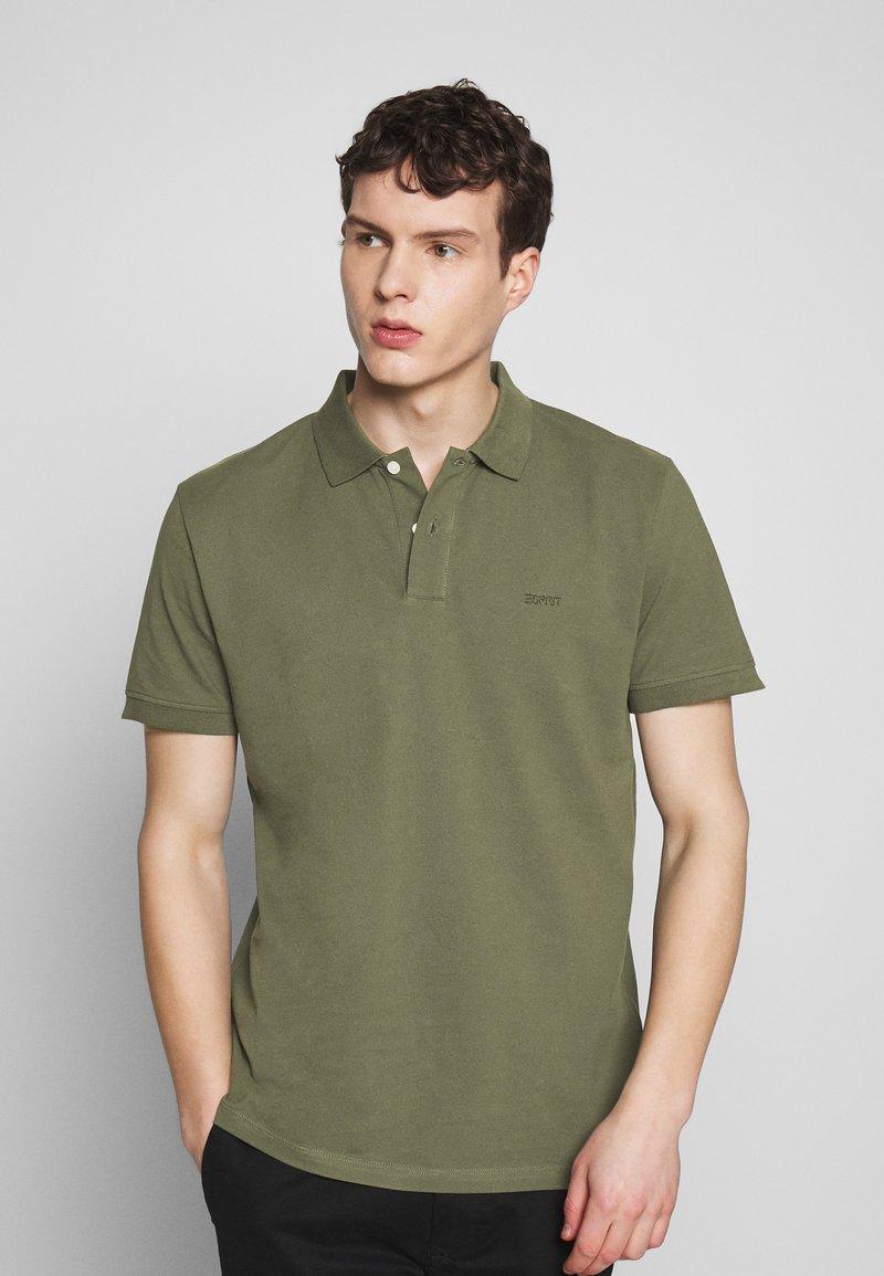 Esprit - Polo - khaki green