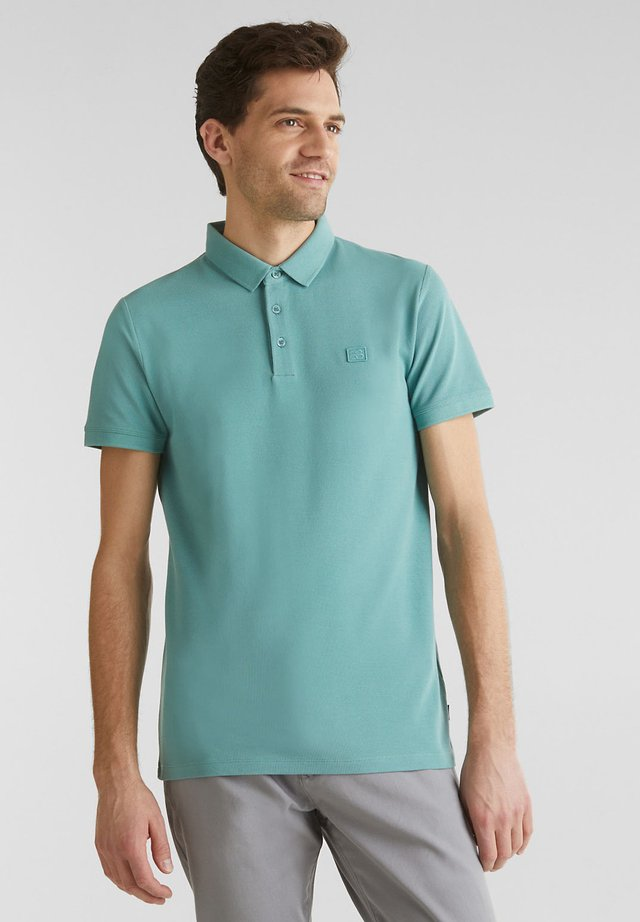 Poloshirt - teal green