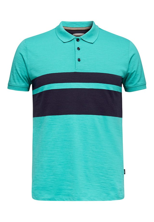 SLUB - Poloshirt - light turquoise