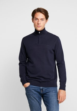 HALF ZIP - Strikkegenser - navy