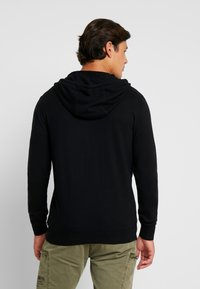 Esprit - COWS ZIP - Cardigan - black - 2