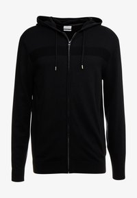 Esprit - COWS ZIP - Cardigan - black - 4