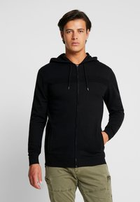 Esprit - COWS ZIP - Cardigan - black - 0