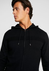 Esprit - COWS ZIP - Cardigan - black - 3