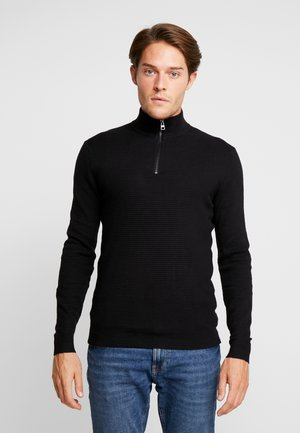 COWS - Strickpullover - black