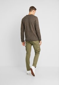 Esprit - MOULINE - Jumper - brown - 2