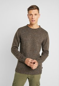 Esprit - MOULINE - Jumper - brown - 0