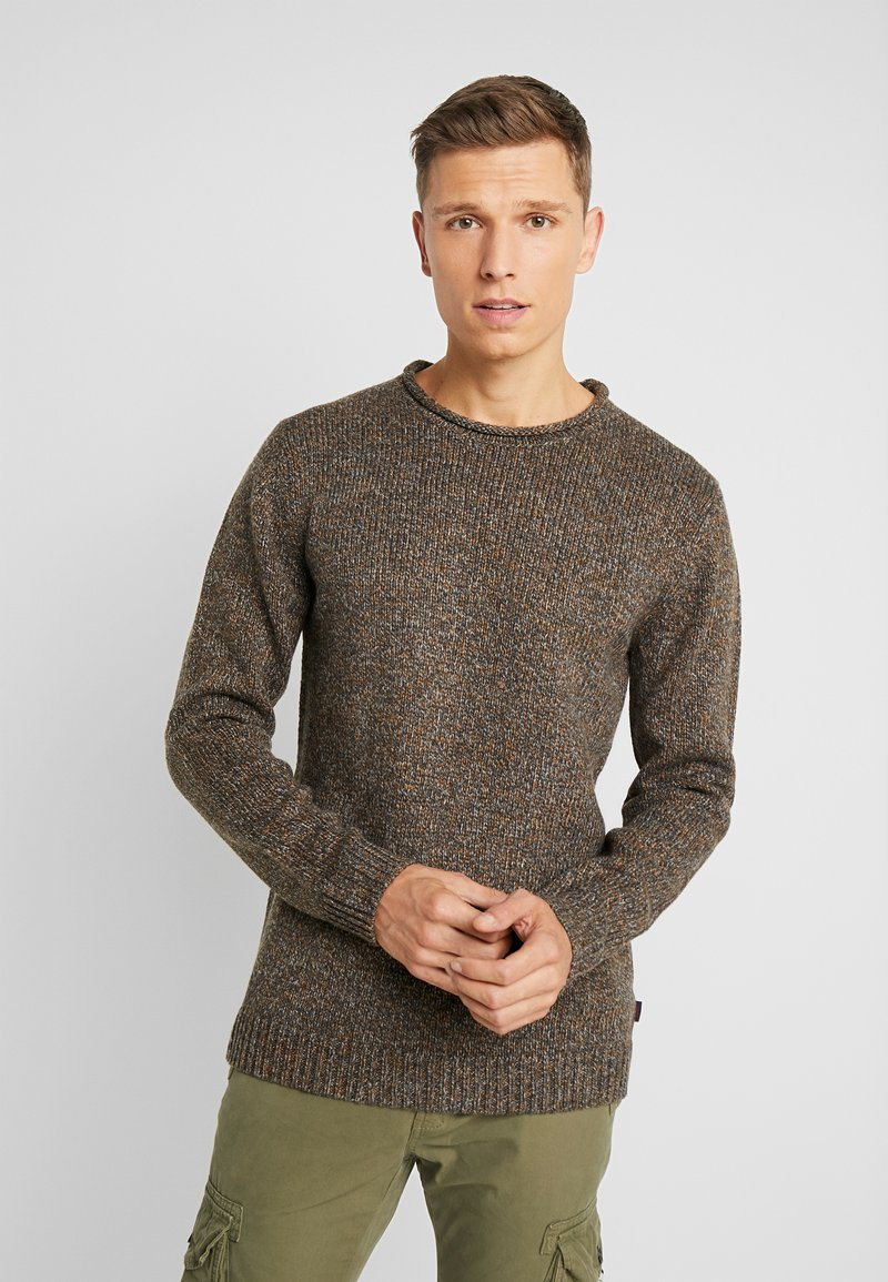 Esprit - MOULINE - Jumper - brown