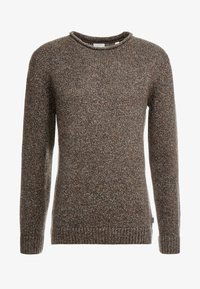 Esprit - MOULINE - Jumper - brown - 4