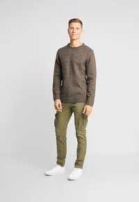 Esprit - MOULINE - Jumper - brown - 1