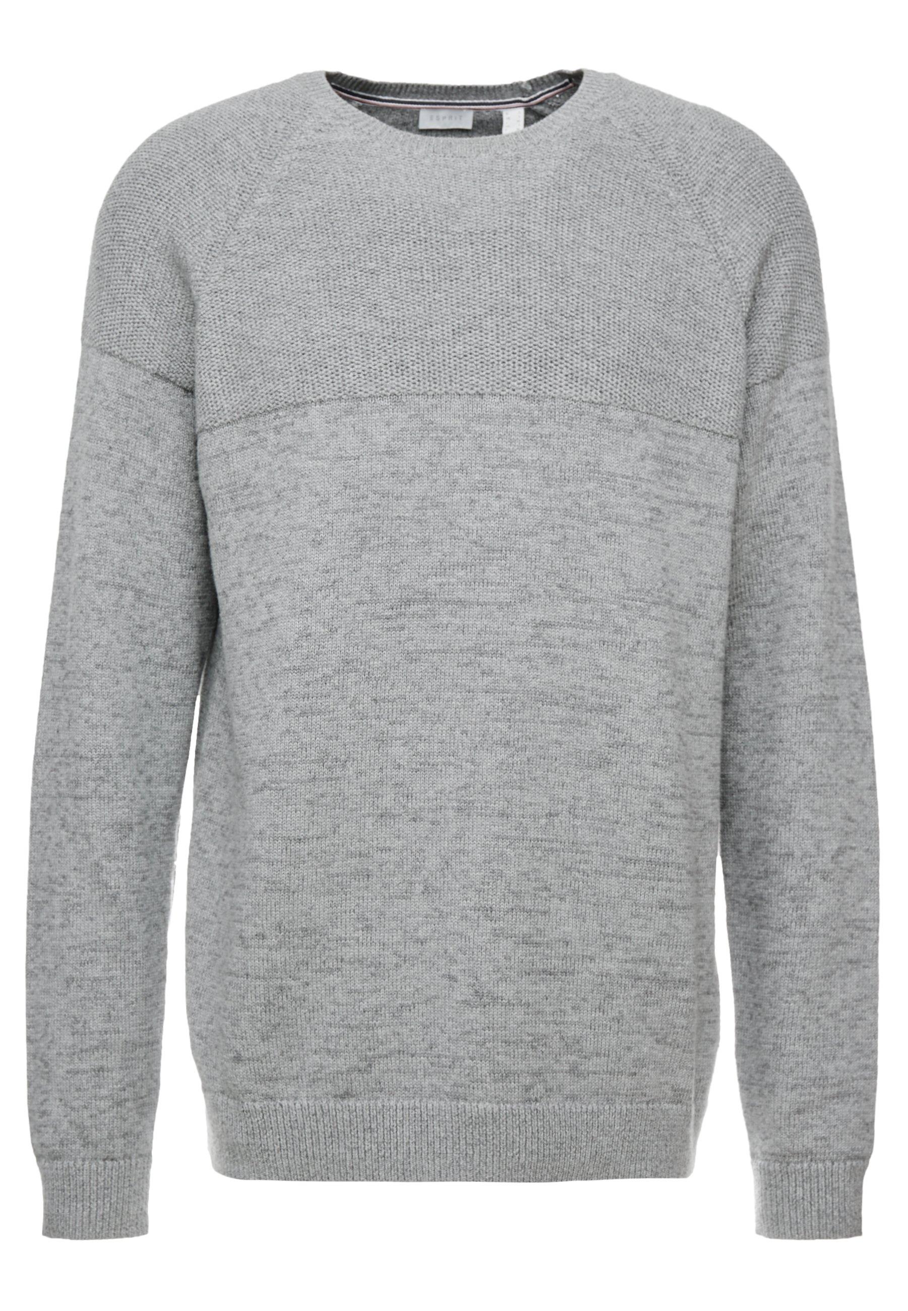 Esprit Placed - Strikpullover /striktrøjer Grey