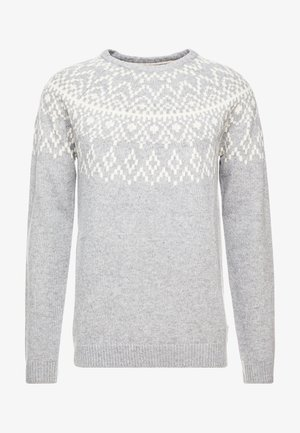 ROUNDED - Jumper - grey
