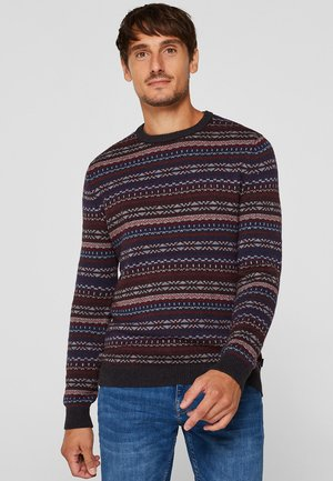 Pullover - bordeaux red