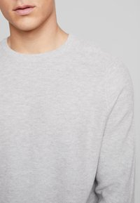 Esprit - HONEYCOMB - Pullover - light grey - 4