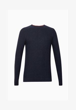 HONEYCOMB - Stickad tröja - navy