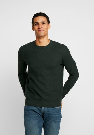 HONEYCOMB - Pullover - dark green