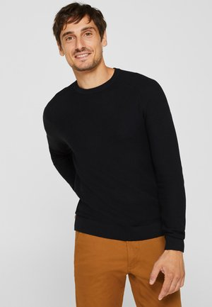 HONEYCOMB - Pullover - black