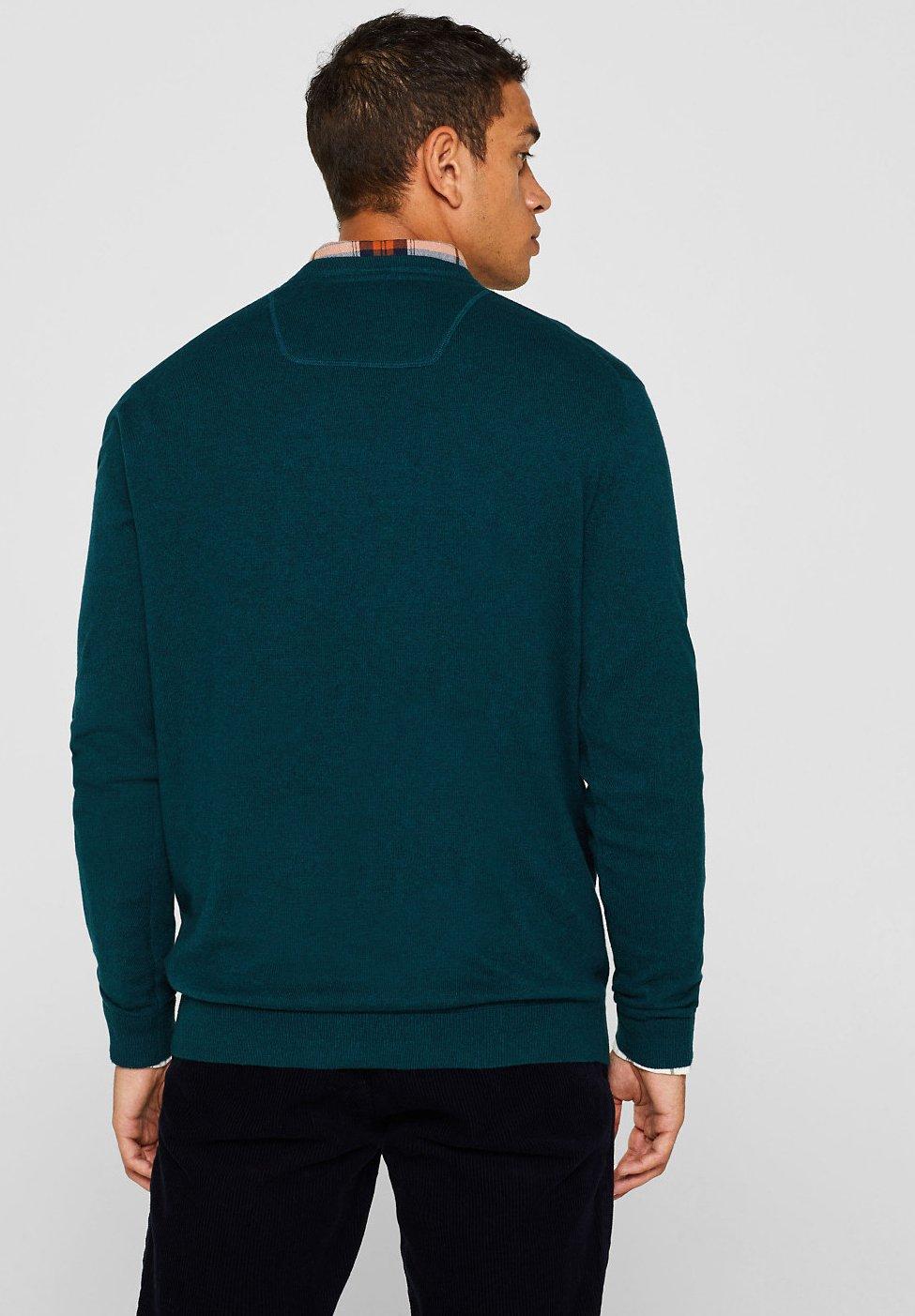 Esprit Strickpullover teal green