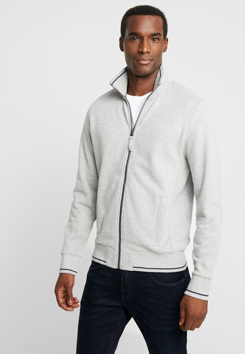 Esprit - BEBA ZIP - veste en sweat zippée - medium grey