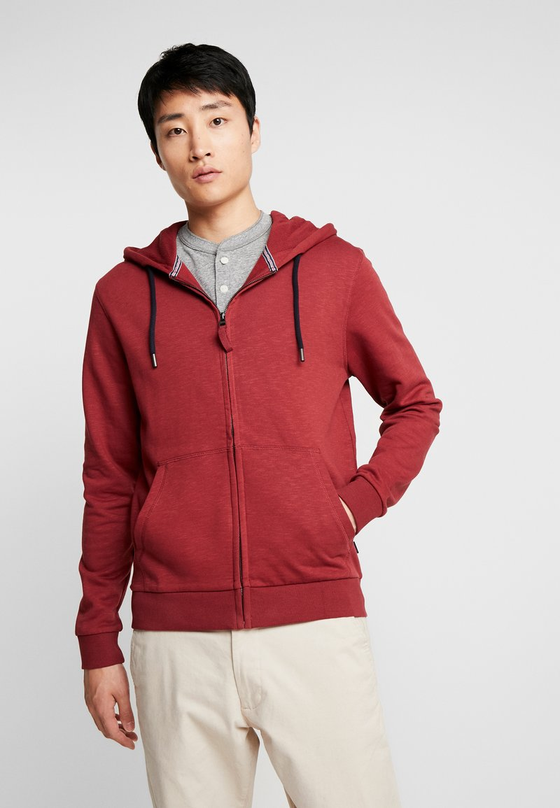 Esprit - Sweatjacke - bordeaux red