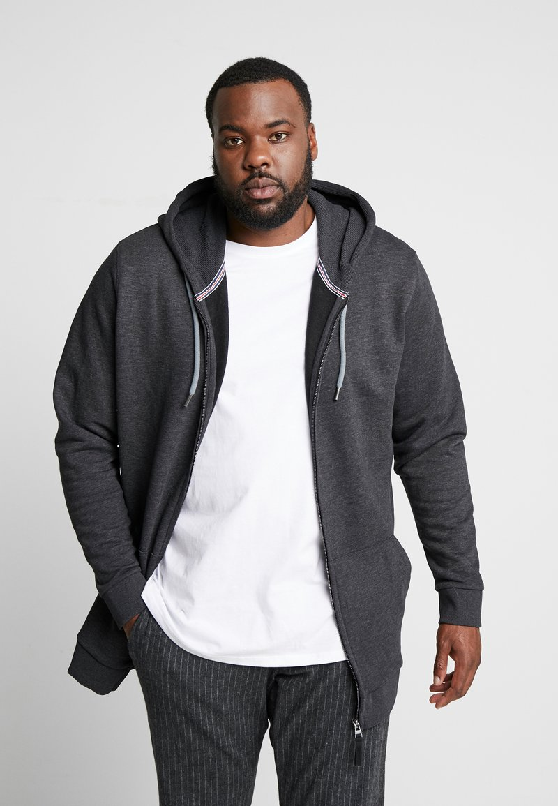 Esprit - Zip-up hoodie - anthracite