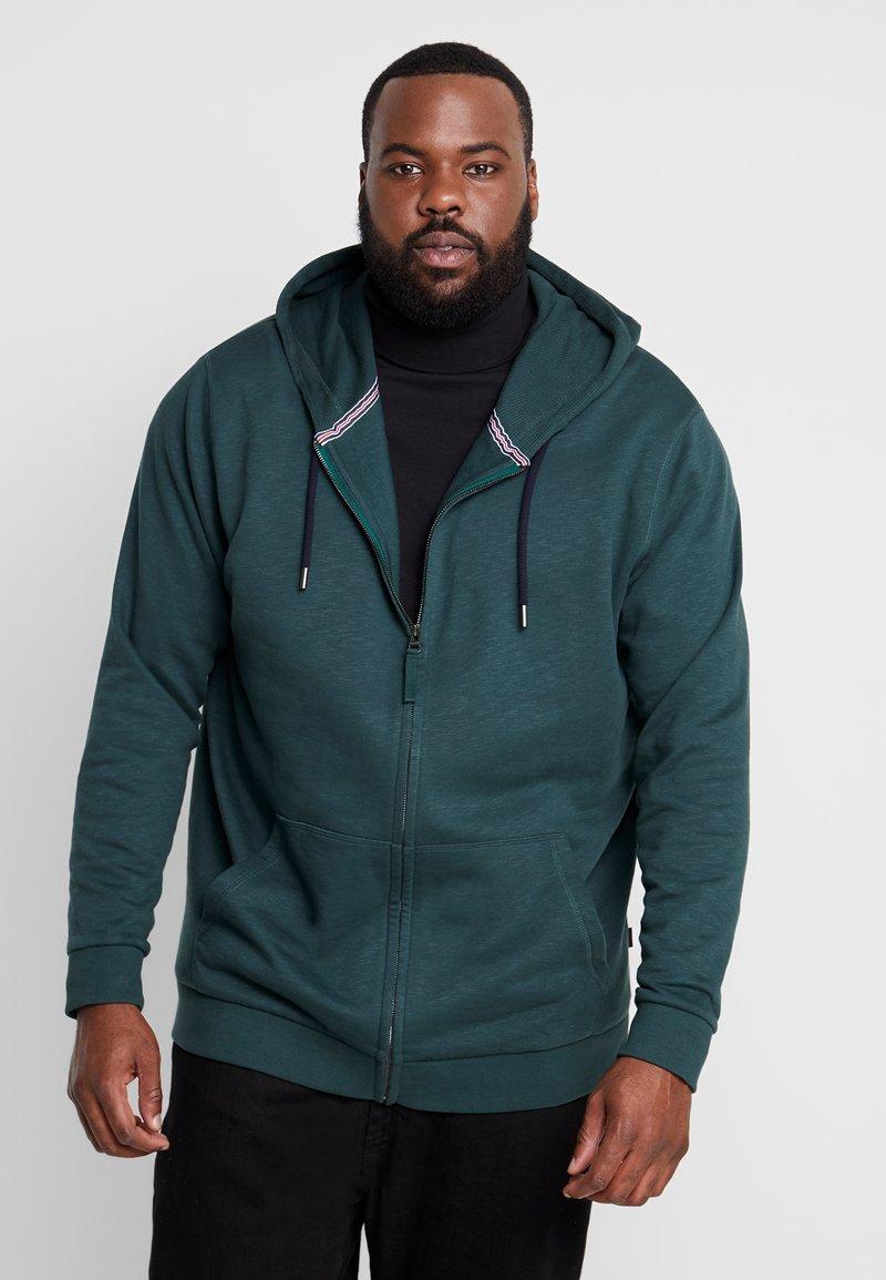 Esprit - BIG BEBA - Zip-up hoodie - dark green