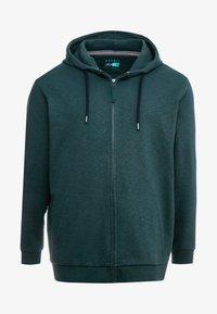 Esprit - BIG BEBA - Zip-up hoodie - dark green - 4