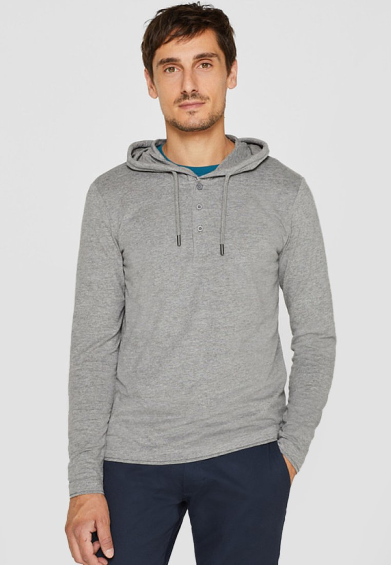 À Medium KapuzeSweat Esprit Mit Capuche Grey JTlcK13F