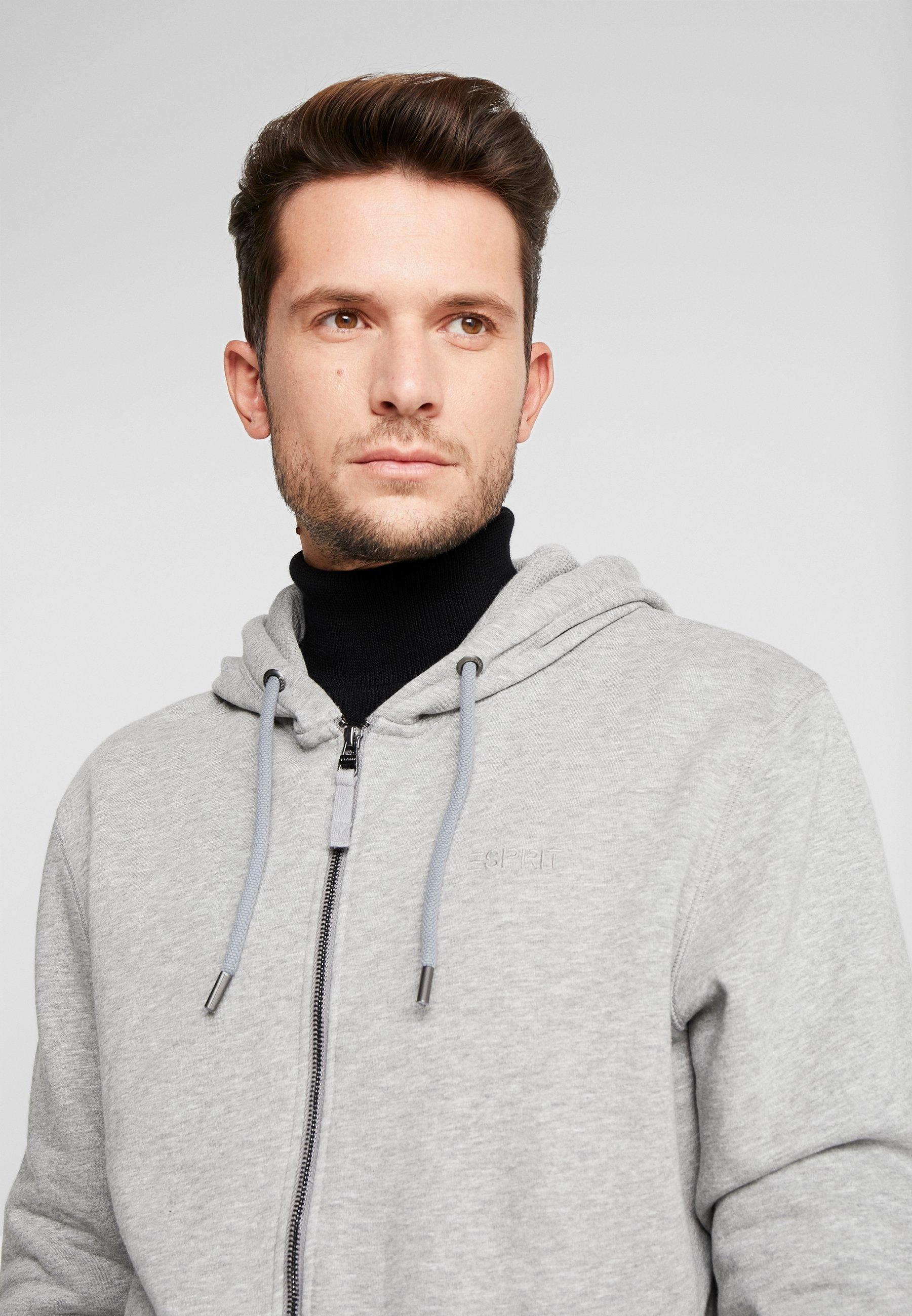 Esprit Felpa aperta - medium grey