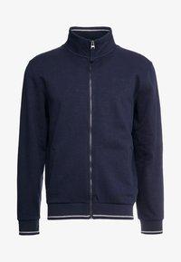 Esprit - veste en sweat zippée - navy - 4