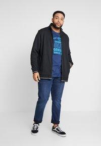 Esprit - Zip-up hoodie - black - 1
