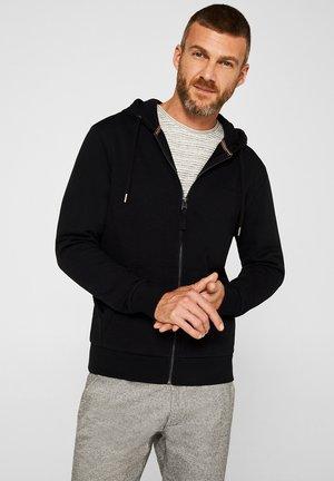 FASHION  - Zip-up hoodie - black