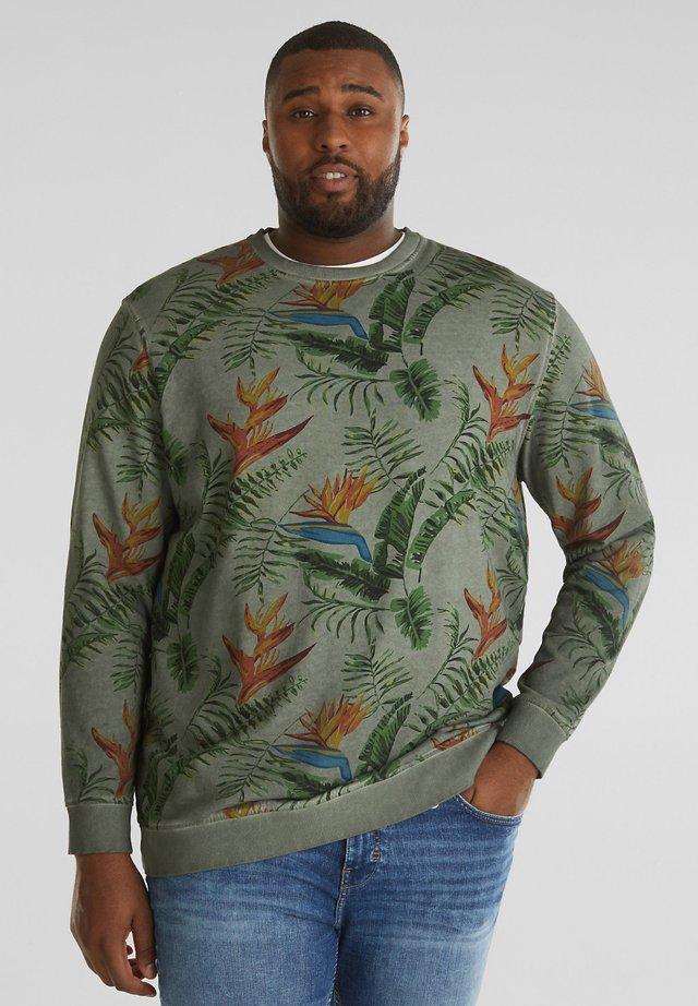 Sweater - khaki green