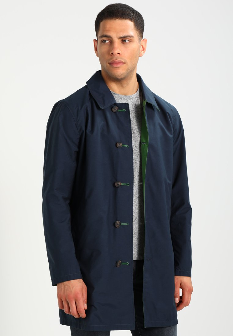 Esprit - REVERSIBLE MAC - Short coat - dark blue