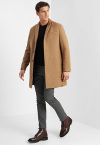 Esprit - STRUCTURE COAT - Manteau classique - camel - 1