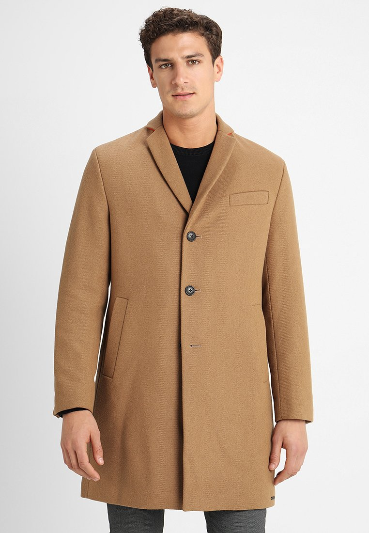 Esprit - STRUCTURE COAT - Classic coat - camel