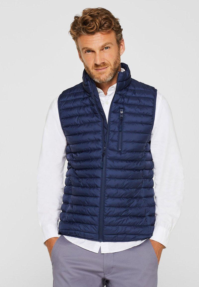 Esprit - Waistcoat - blue