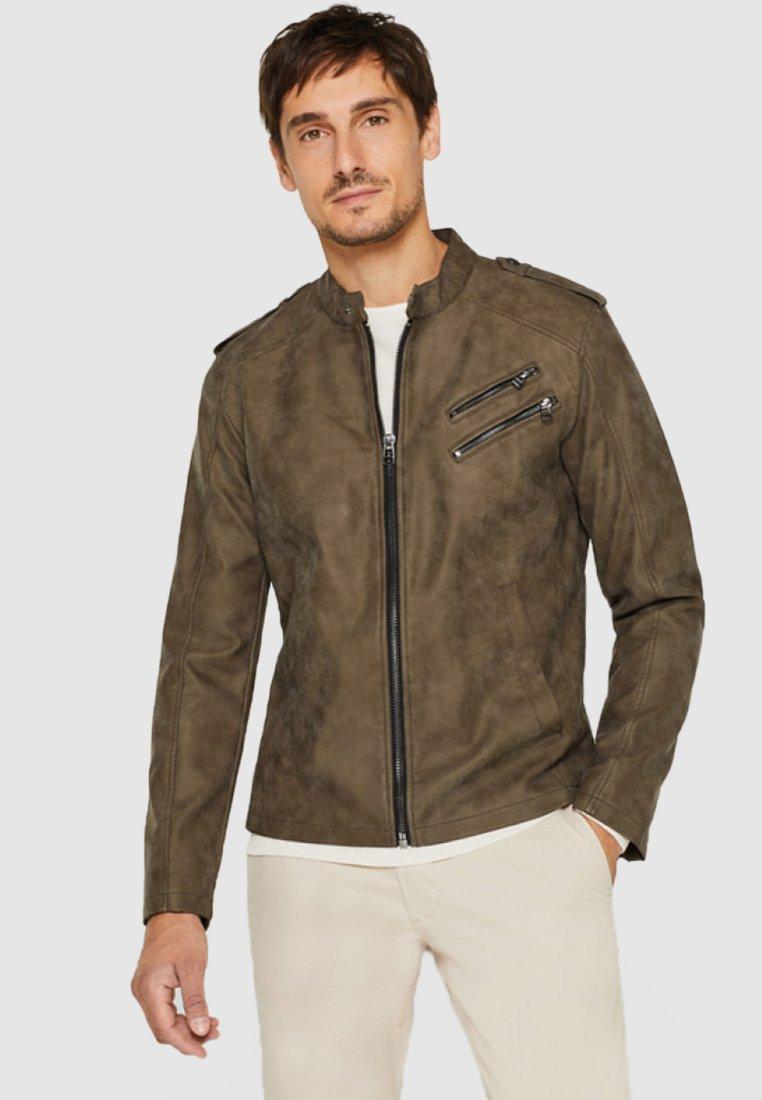 Esprit - Faux leather jacket - light brown