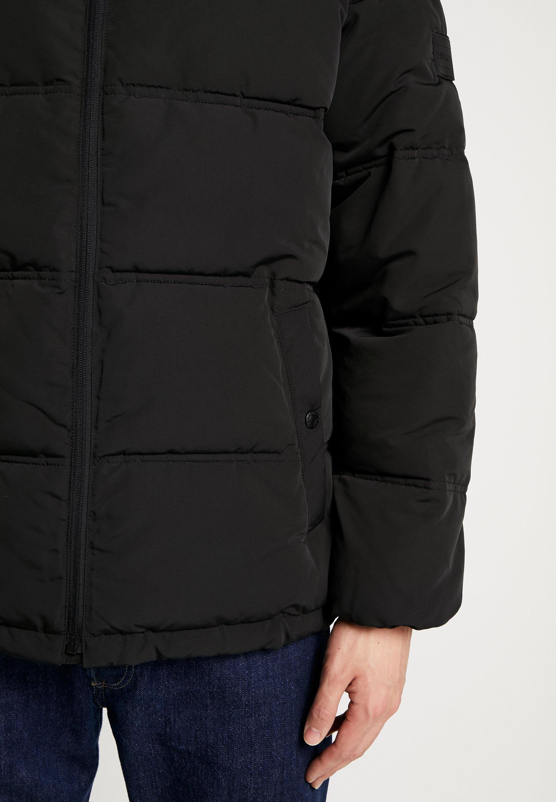 Esprit Puffer - Winterjas Black