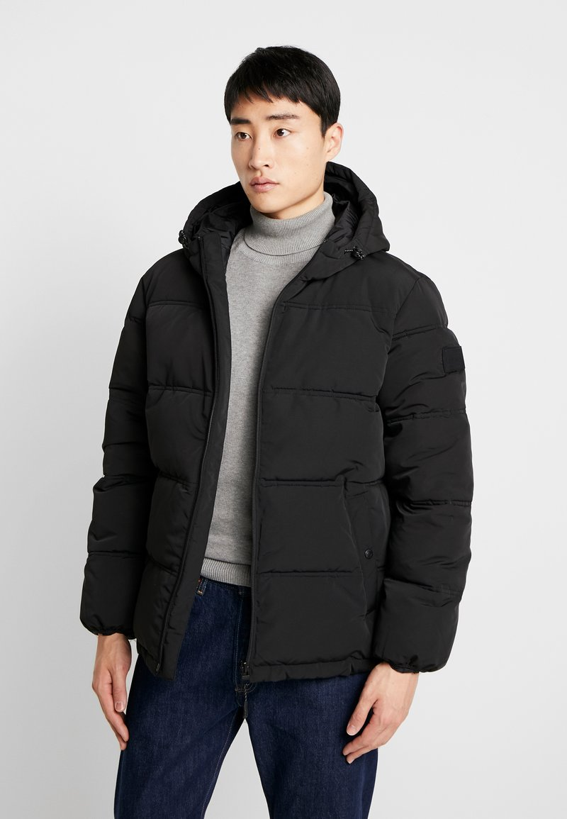 Esprit - PUFFER - Veste d'hiver - black