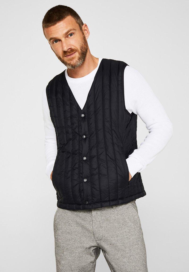 Esprit - Waistcoat - black