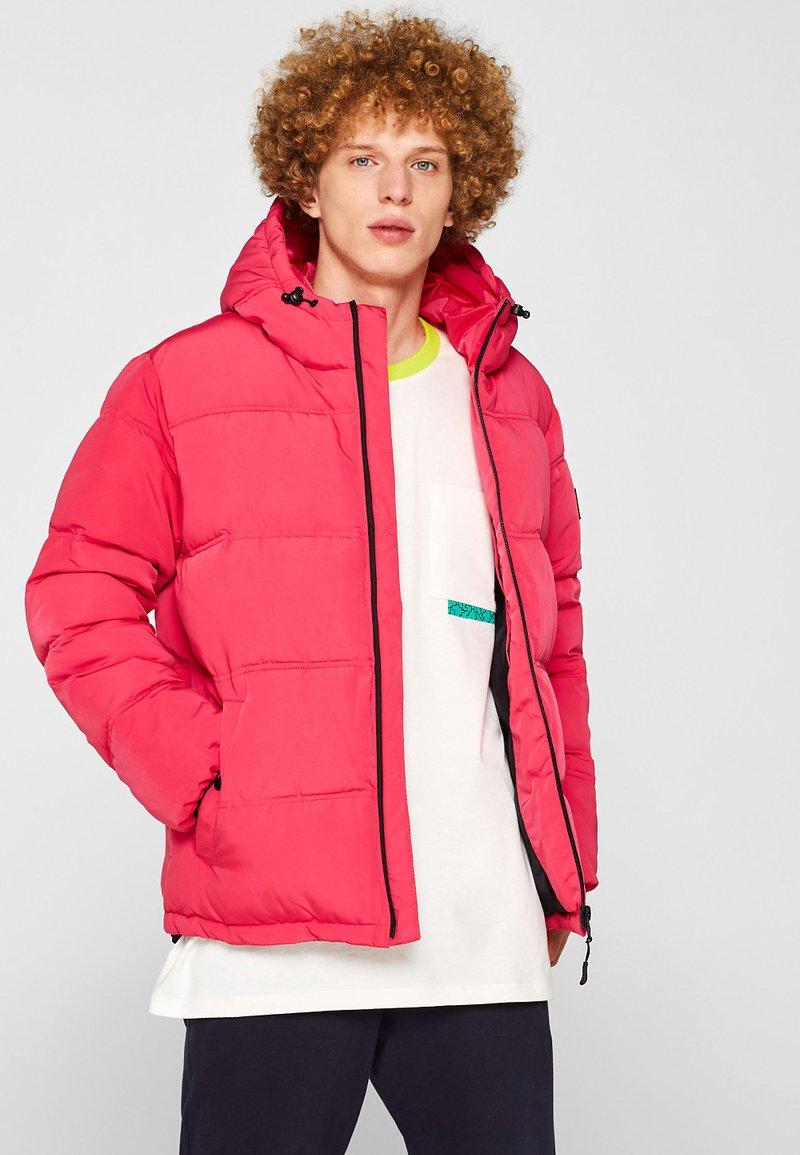 Esprit - MIT KAPUZE - Winterjas - pink fuchsia
